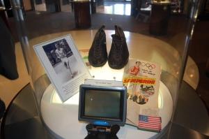 Zamperini exhibit at Italian-American Sports HOF - photo by Bermudez