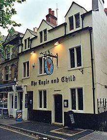 Pub at which Inklings met