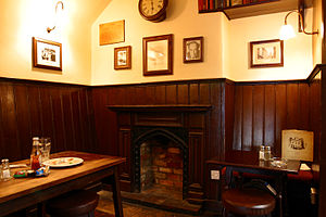 Inklings corner in the pub