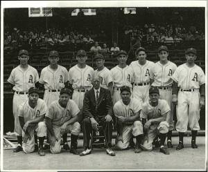 This 1947 team picture almost never happened