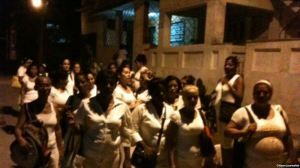 Ladies in White arrested at home of Berta Soler